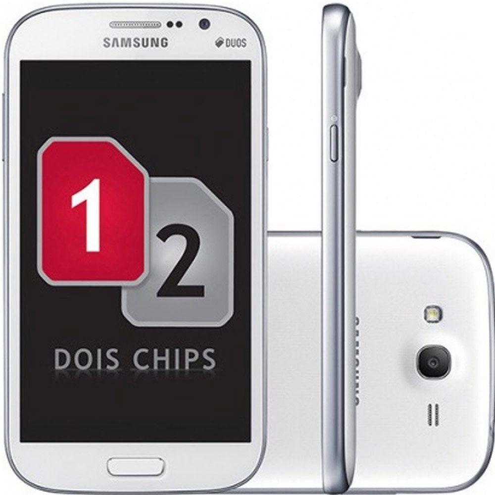 bda63c7ec Smartphone Samsung Galaxy Gran Duos I9082 4GB Tela 5 Android 4.1 Câmera 5MP Dual  Chip Open TCDS0517 - Allid Produto não disponível