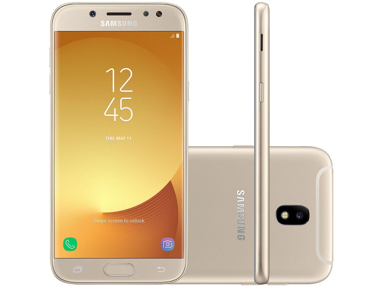 8382a03331 Smartphone Samsung Galaxy J5 Pro 32GB Dourado - Dual Chip 4G Câm ...