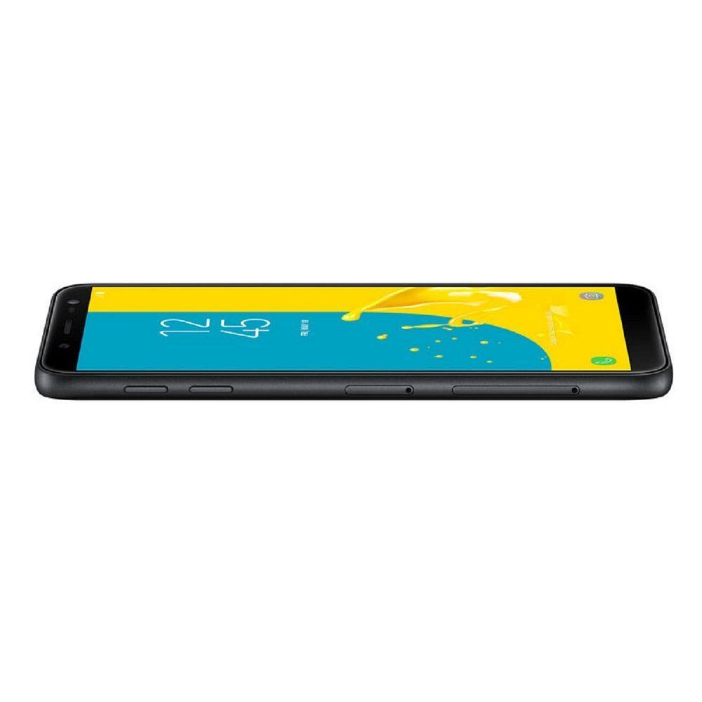"087f39afab Smartphone Samsung Galaxy J6 Dual Chip Android 8.0 Tela 5.6"" Octa-Core  1.6GHz 32GB 4G Câmera 13MP com TV - Preto R  1.099"