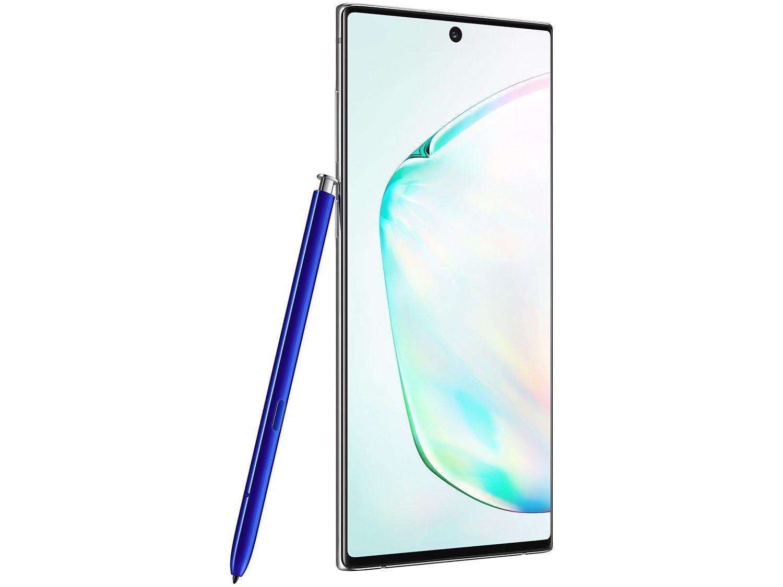 Smartphone Samsung Galaxy Note 10 256GB Prata 4G - 8GB RAM 6