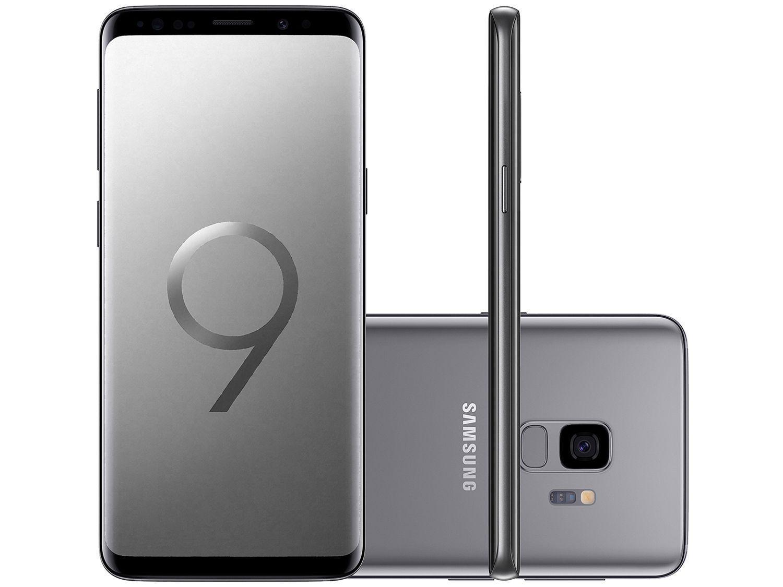 "Aaa Mastercard Login >> Smartphone Samsung Galaxy S9 128GB Cinza 4G - Câm. 12MP + Selfie 8MP Tela 5.8"" Quad HD Octa Core ..."