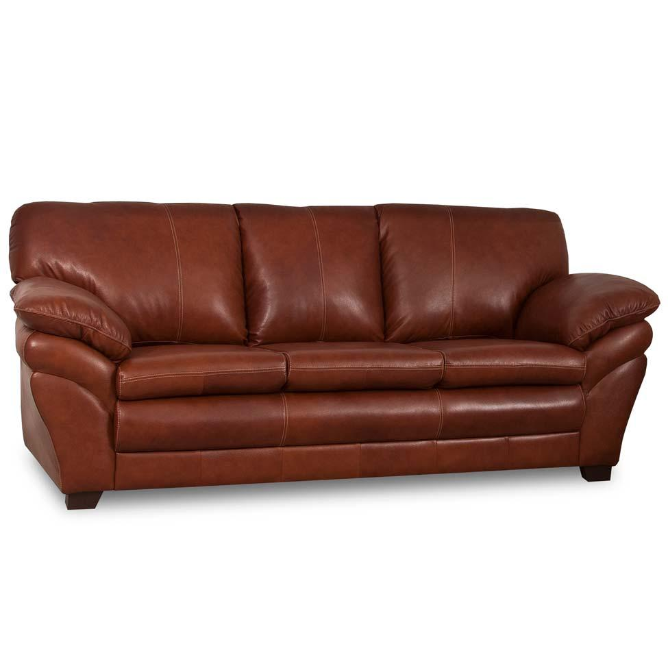 Sof 3 lugares bradley couro marrom mobly sof s 03 for Sofa 03 lugares com chaise