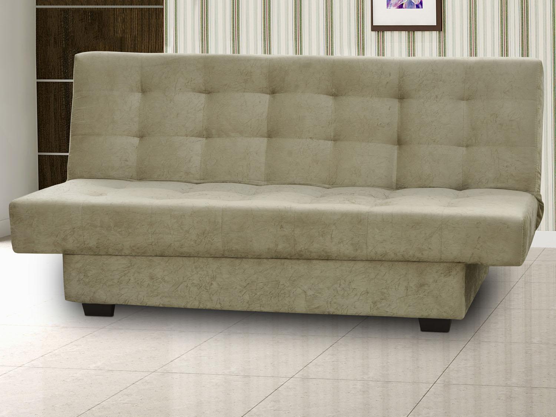 Sof cama casal 3 lugares suede reclin vel matrix laila for Sofa cama 1 persona