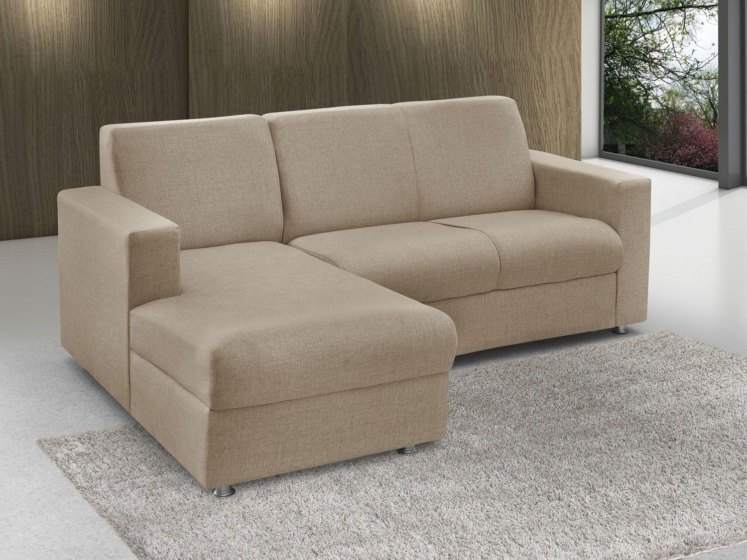 Sof chaise 2 lugares chenille roma american comfort for Sofa 5 lugares com chaise