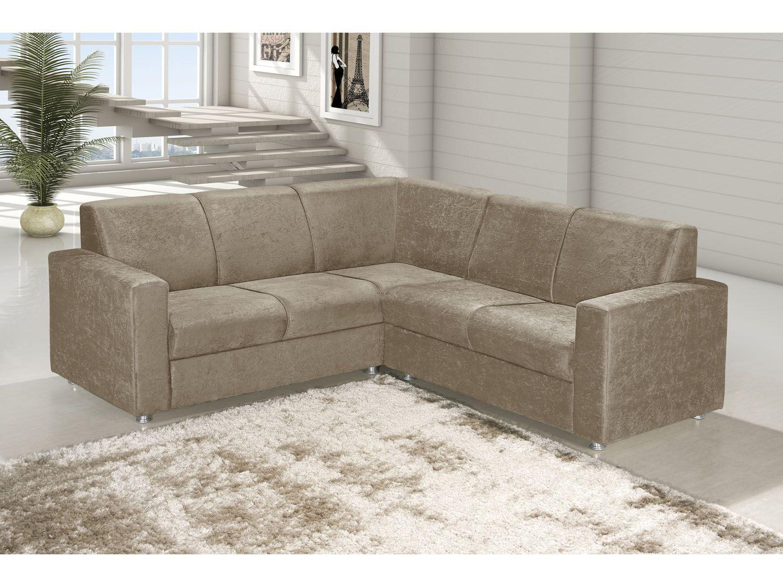 sof de canto 5 lugares roma american comfort sof s