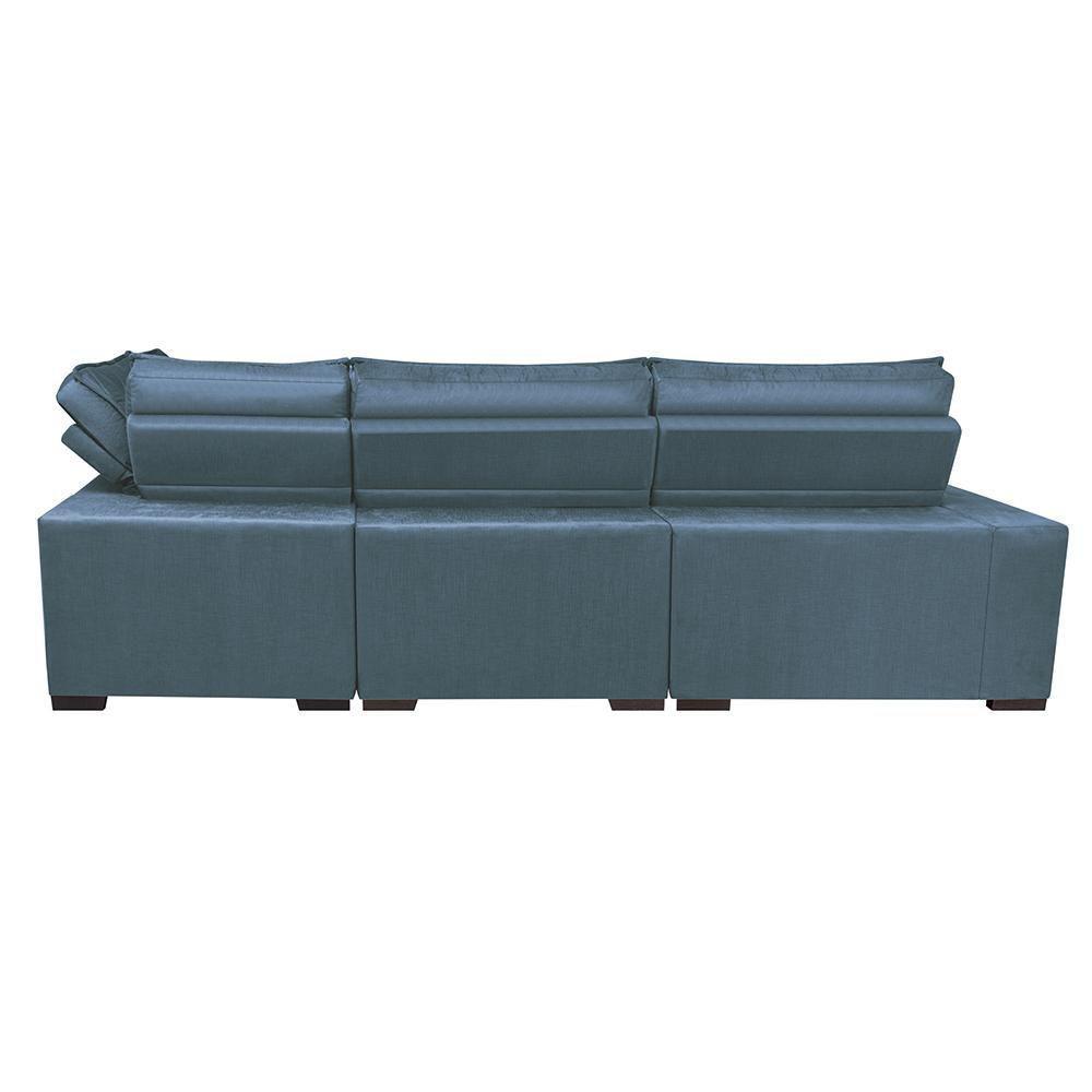 Sofa de Canto Retrátil e Reclinável com Molas Cama inBox ...