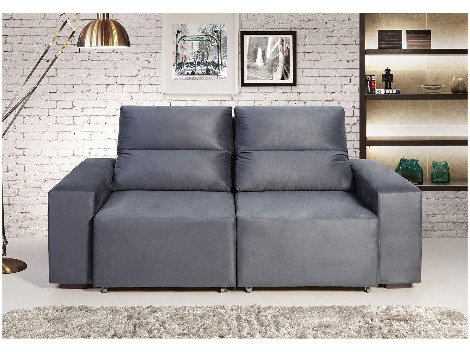 Sof retr til e reclin vel 3 lugares camboriu catarina for Sofa 03 lugares retratil e reclinavel