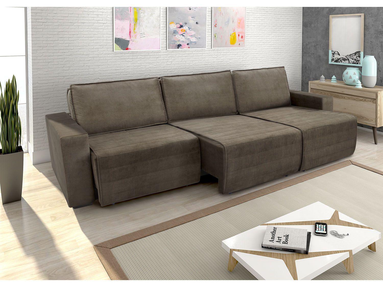Sofa de canto retratil e reclinavel 5 lugares home for Sofa 4 lugares retratil e reclinavel