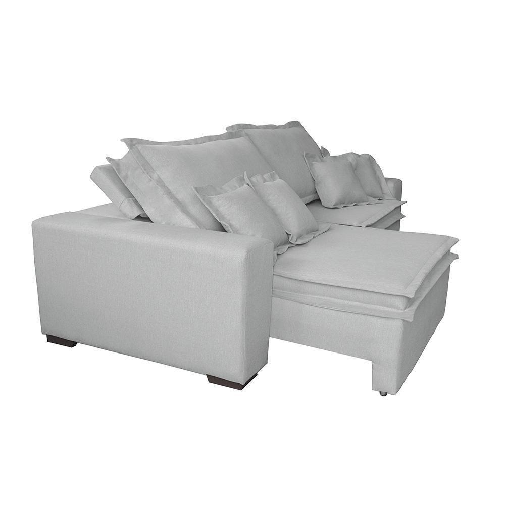 Sofa Retrátil e Reclinável com Molas Cama inBox Premium 3 ...