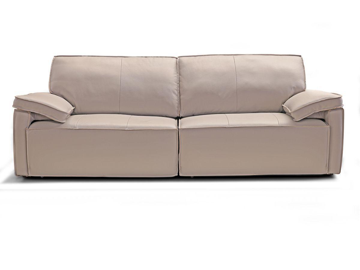Image of: Sofa Retratil E Reclinavel De Couro Milenium 2 70 M Grizzy Mempra Design Sofas Magazine Luiza