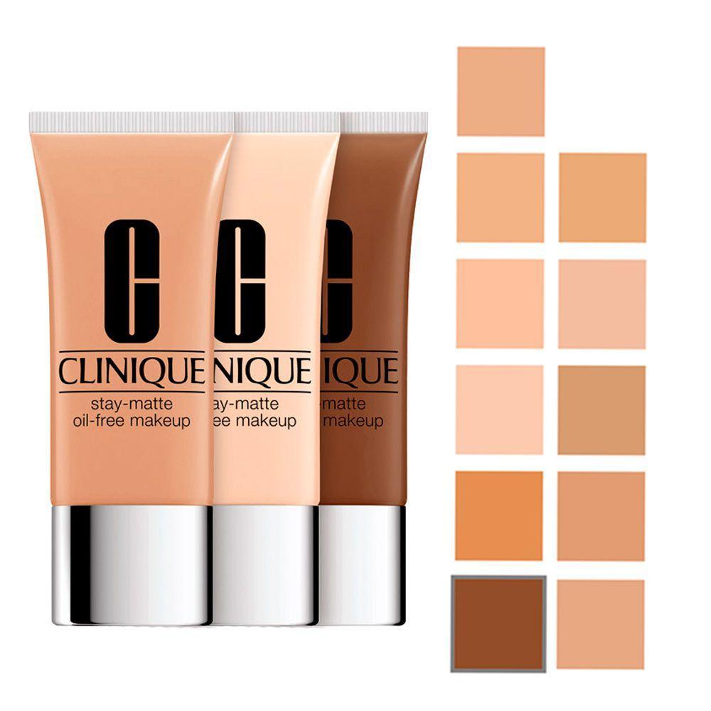 Stay Matte Oil Free Makeup Clinique Base Facial Base Facial