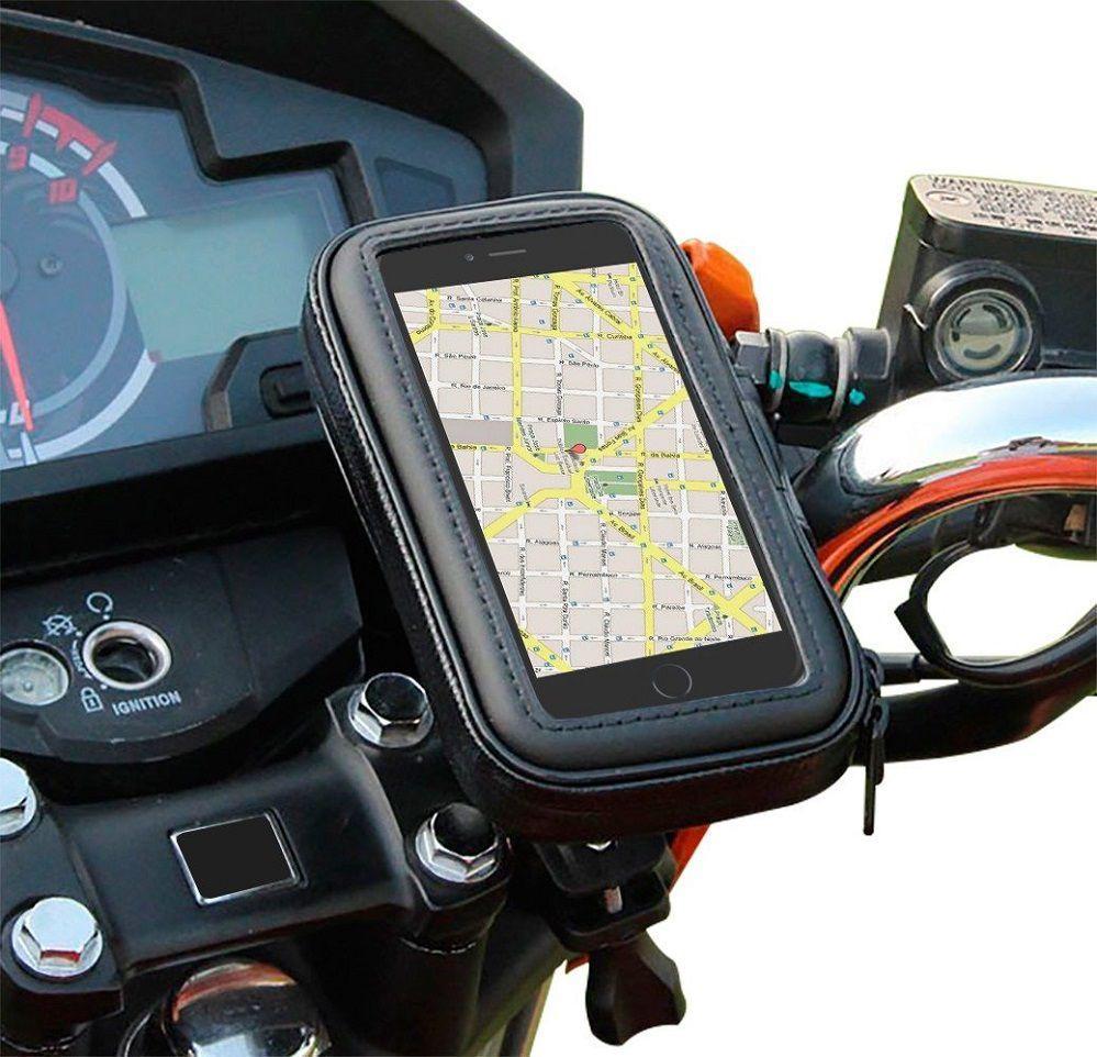 c7bd94f0f82 Suporte Capa Celular Moto Bike Prova Dágua Impermeável Smartphone Tela 5.5  Tomate R$ 27,90 à vista. Adicionar à sacola