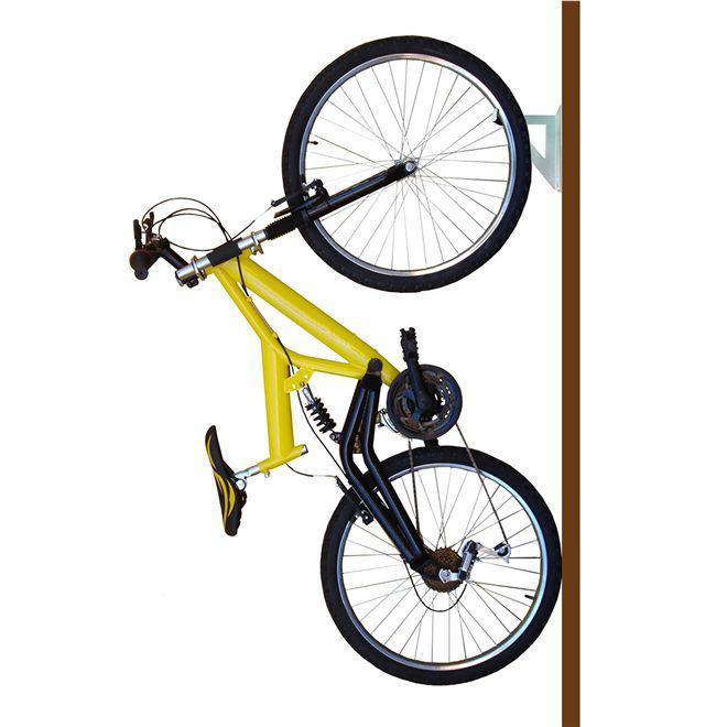0d3f0daee Suporte de bike gancho de parede para bicicleta horizontal ou vertical 20kg  brasforma - Paris