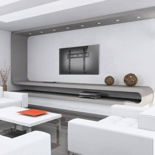 """7a9652db5 Suporte Fixo de Parede ELG N01V4 para TVs LCD LED Plasma de 32 a 55"""" R   52"""