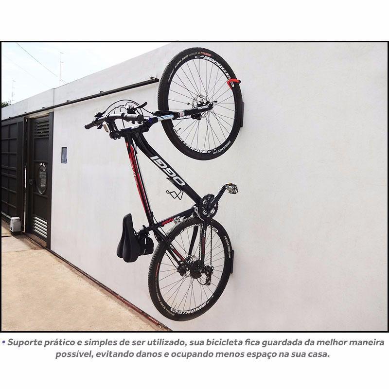 fbbd0525f Suporte Gancho para Pendurar Bicicleta na Parede - Genus móveis - Gancho -  Magazine Luiza