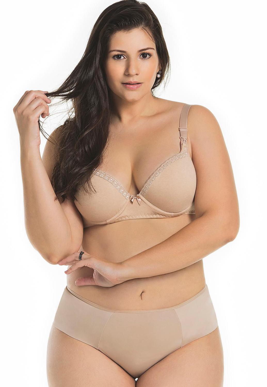 be5cc5743 Sutiã de Amamentação com Bojo e Renda Mondress - Mondress lingerie Produto  não disponível