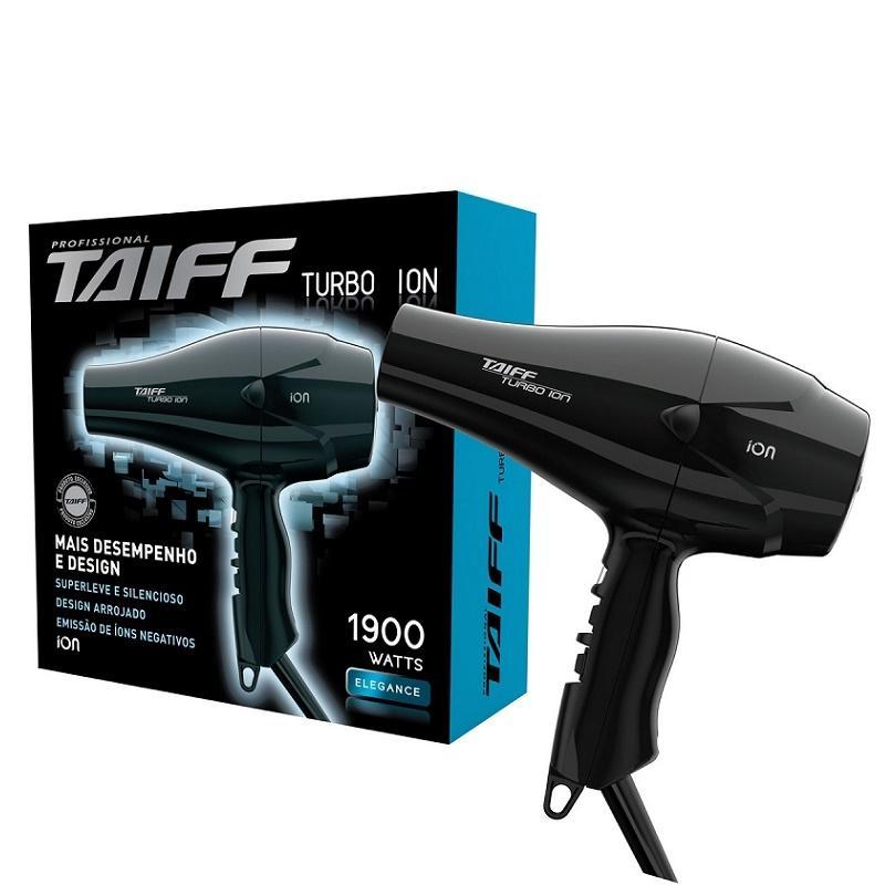 5de8ac121 Taiff Turbo Ion 1900w 220v - Secador de Cabelo Profissional - Magazine Luiza