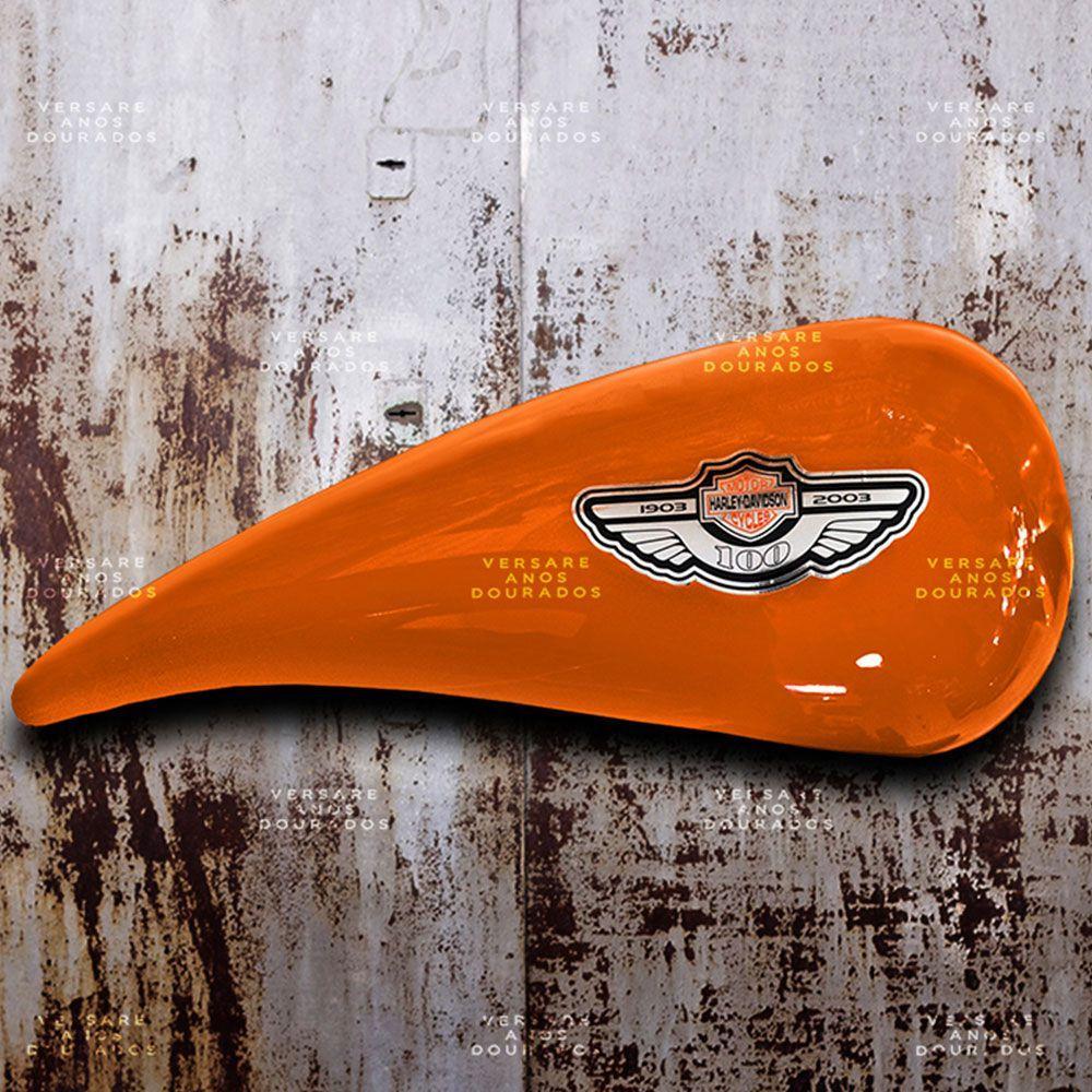 0f633e6dd7f Tanque Harley Davidson Highway To Hell - Versare anos dourados R  590