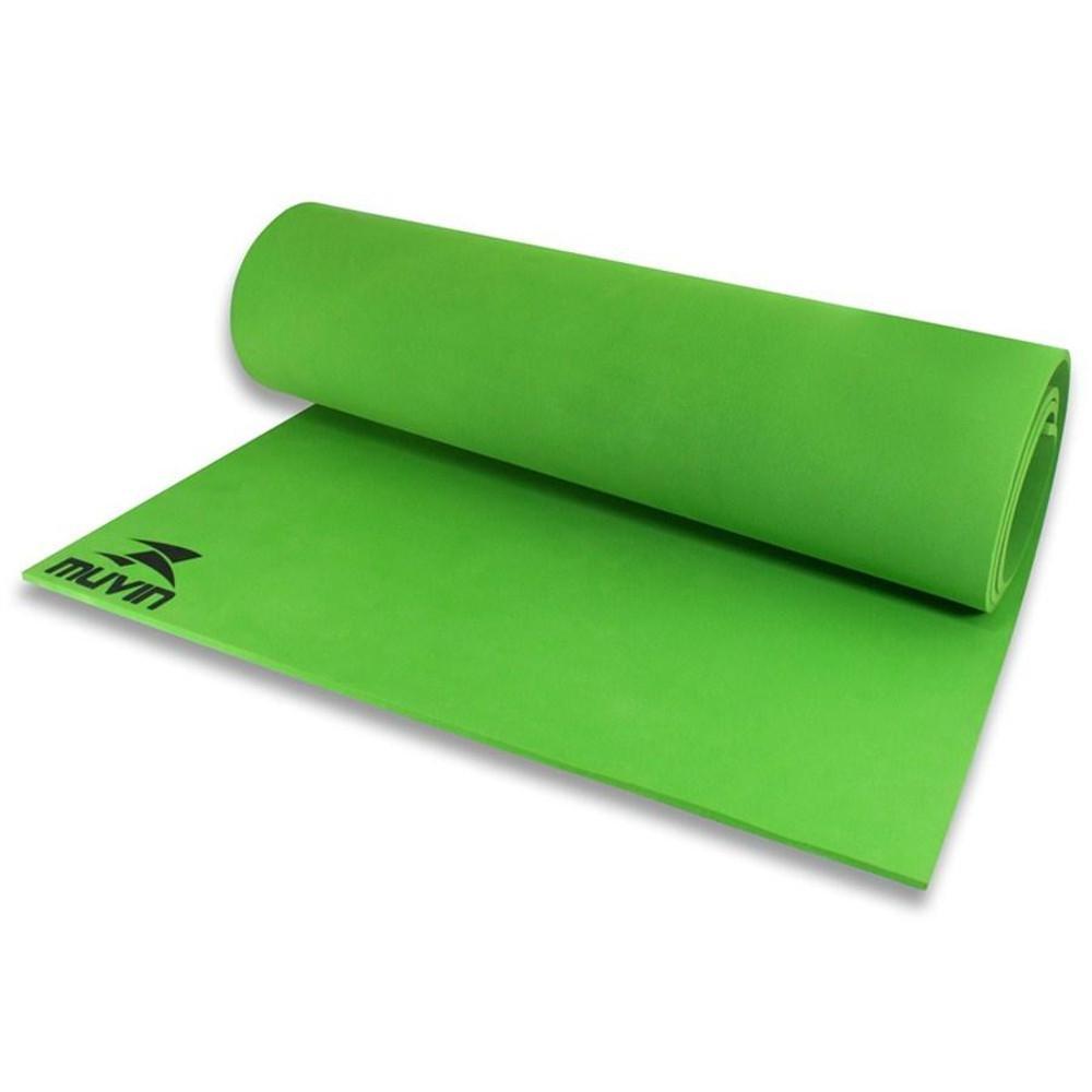 29ca5fabb Tapete para Yoga em EVA Verde Muvin - Tapete para Yoga e Pilates ...