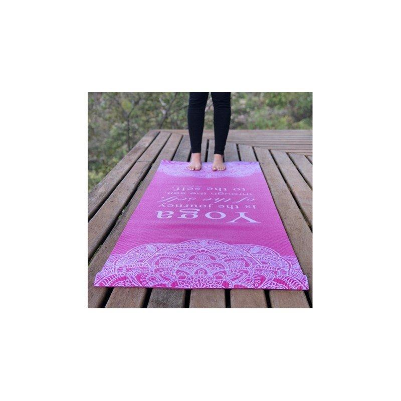 Tapete Yoga Básico Rosa - Gili - Tapete para Yoga e Pilates ... 607757aa31ea