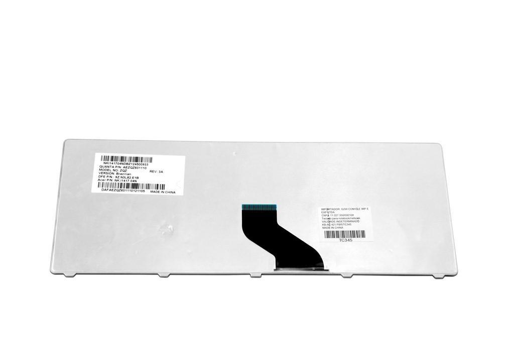 Teclado para Notebook Acer Aspire E1-431 E1-471-6627 Preto ABNT2