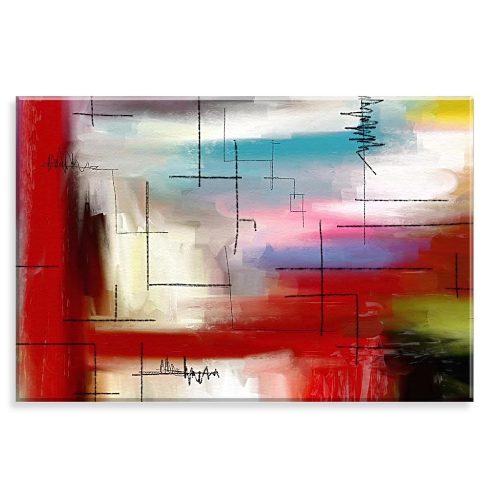 ae4704124 Tela Decorativa Pintura Modern One - Love decor - - - Magazine Luiza