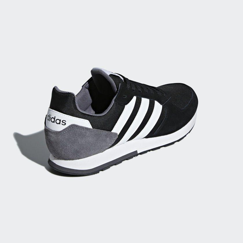 ab4088076df14 Tênis Adidas 8K Masculino - Preto Branco - - - Magazine Luiza