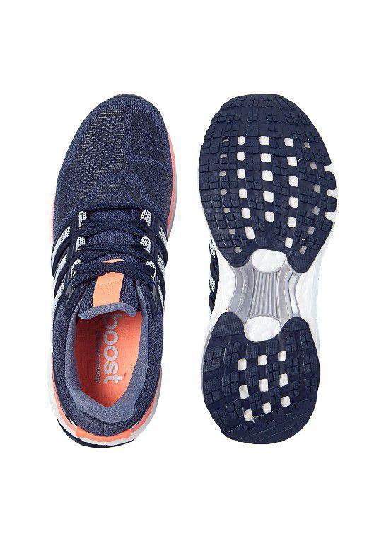 41ade6bf748 Tênis Adidas Energy Boost 3 Feminino - Marinho e Branco - Tênis de ...