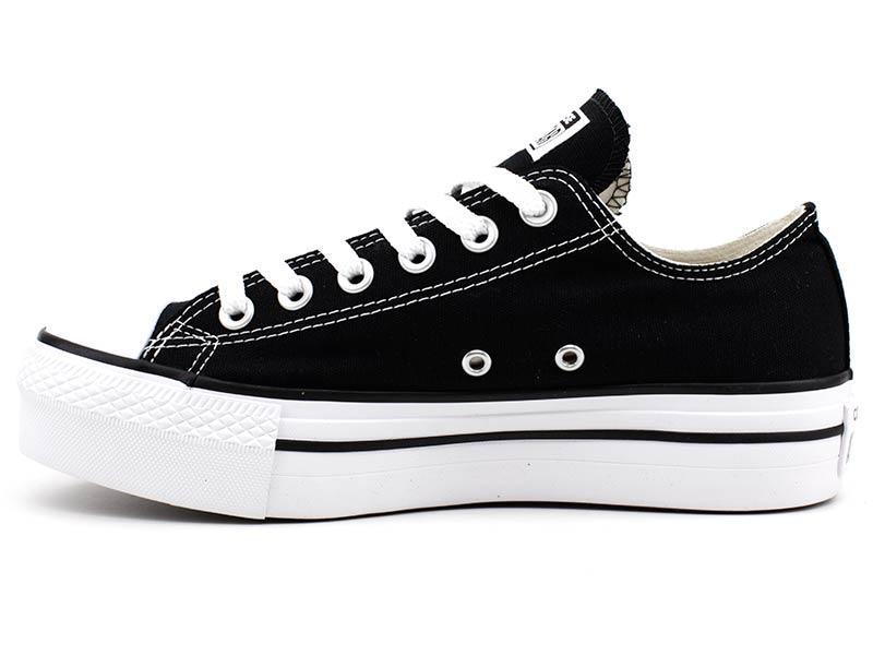 25833ba1d Tênis All Star Converse CT0495 Plataforma Preto - All star - converse R   189