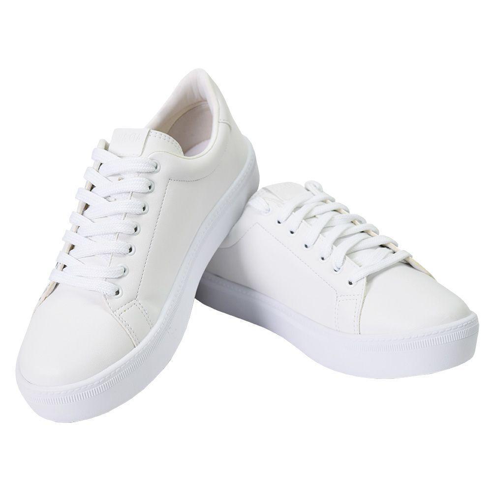 6dc9b32c1b Tênis Feminino Dream - Sua Cia Branco - Lia line - Calçados ...