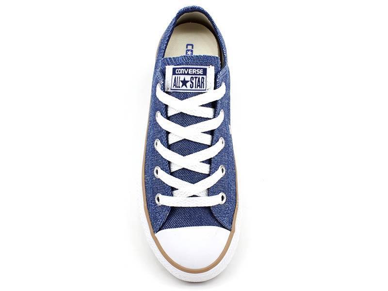 40bc93e788f66 Tênis Infantil All Star Converse CK0531 Azul Jeans - All star - converse R$  129,90 à vista. Adicionar à sacola