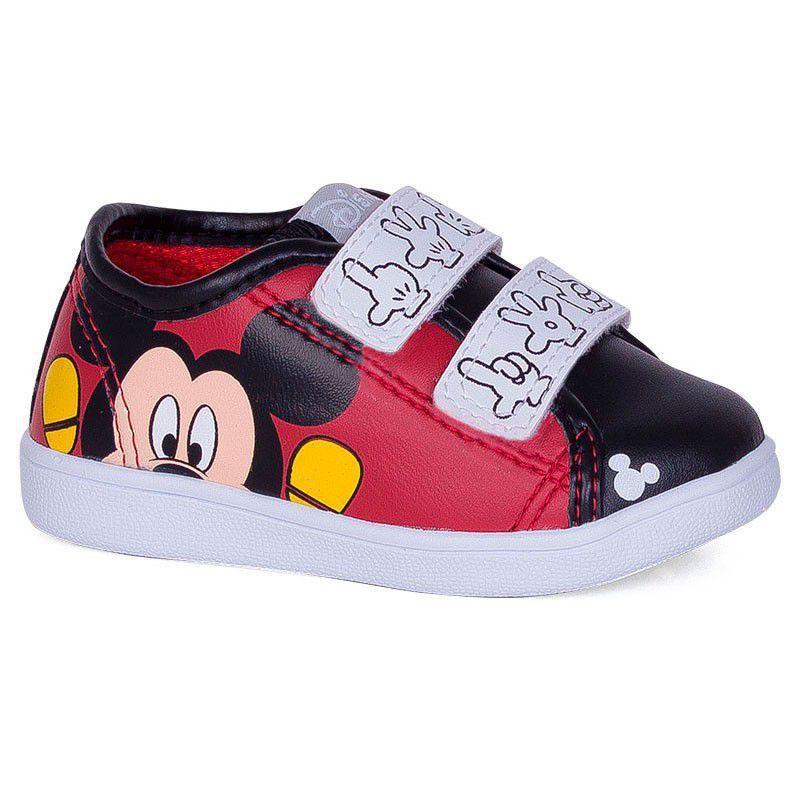 5e01ab0e688 Tênis Infantil Velcro Mickey Vermelho - Diversão - Sugar shoes Produto não  disponível
