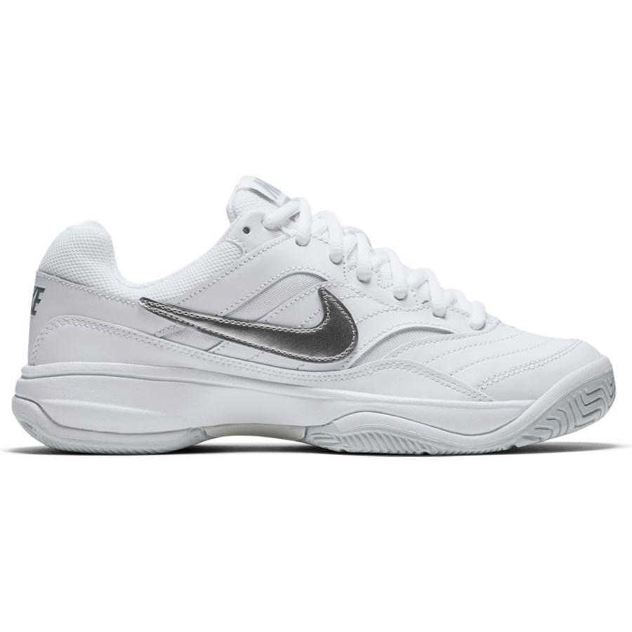28e1a41e7e9 Tenis Nike Court Lite Feminino Branco e Cinza - Produtos para Tênis ...