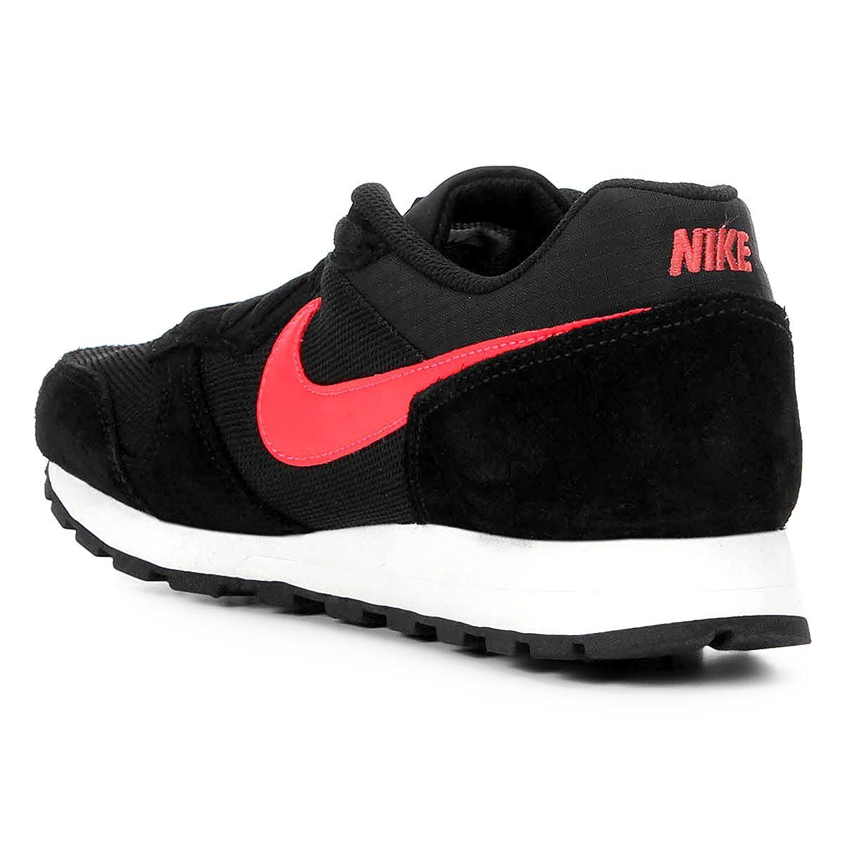 ceffa7a196ac94 Tênis Nike Md Runner 2 Masculino - Preto e Vermelho R$ 259,99 à vista.  Adicionar à sacola
