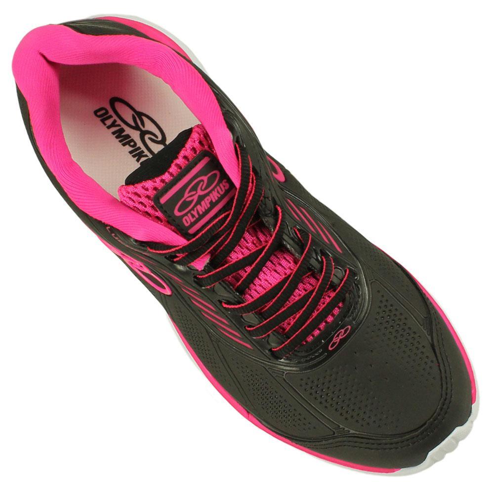 961b06973d Tênis Olympikus Fluence 305 Feminino Cor Preto Pink - Tênis de ...