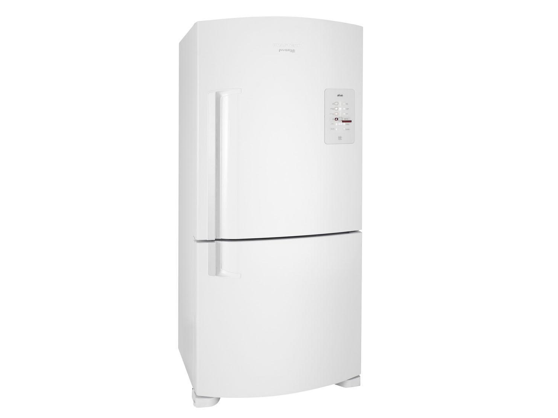 Geladeira/Refrigerador Brastemp Frost Free Inverse - Branca 573L com Smart Bar Ative! BRE80 ABANA