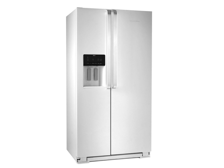 Geladeira/Refrigerador Brastemp Frost Free Side by - Side 560L BRS62 com Dispenser de Água BRS62 CBANA