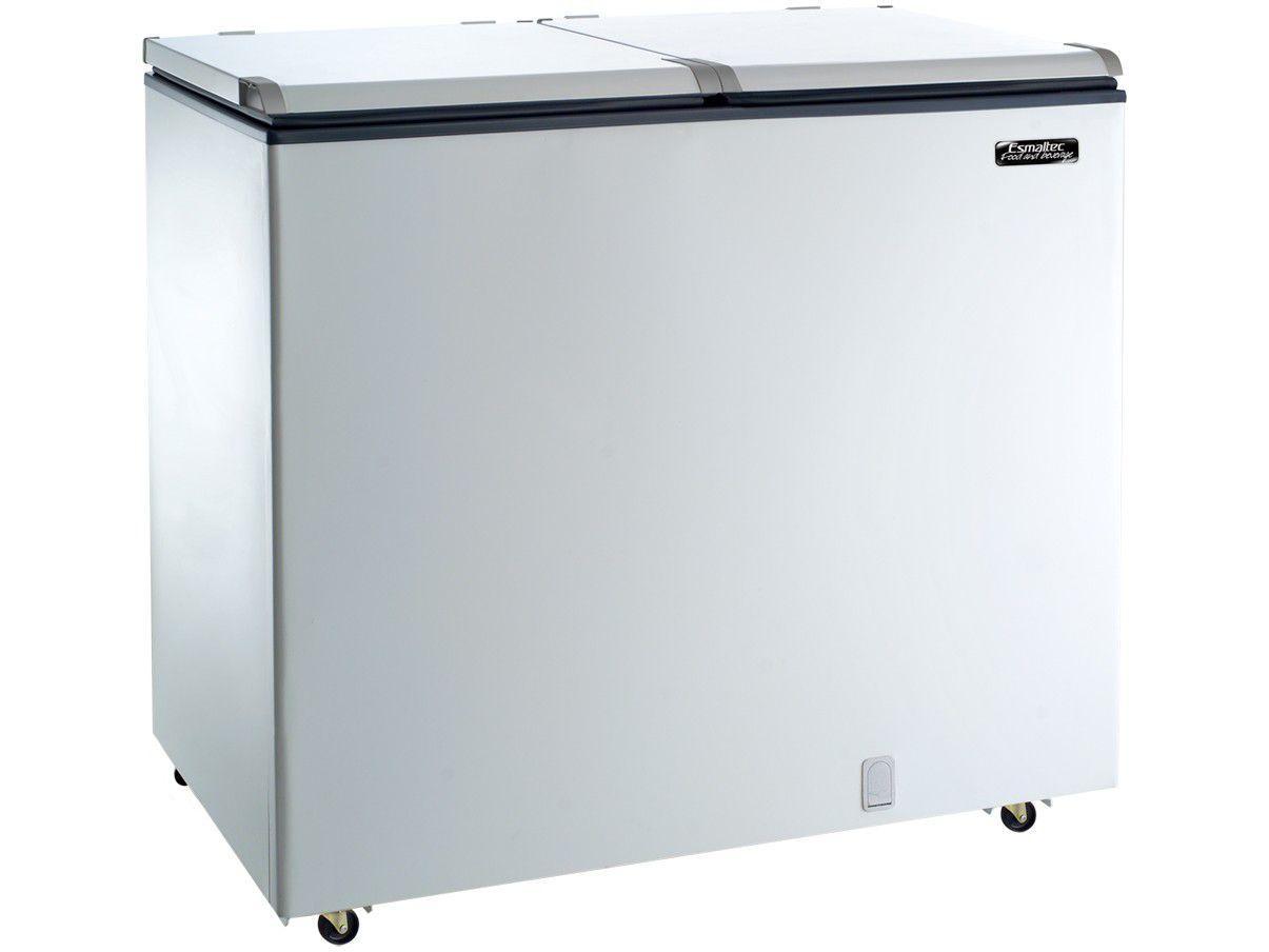 Conservador/Refrigerador Esmaltec ECH350 - Horizontal 355L 2 Portas