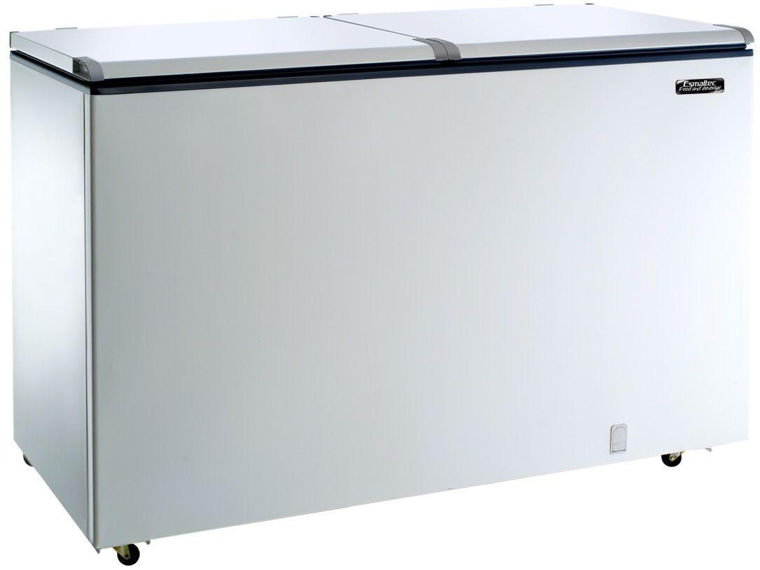 Conservador/Refrigerador Esmaltec ECH500 - Horizontal 468L 2 Portas