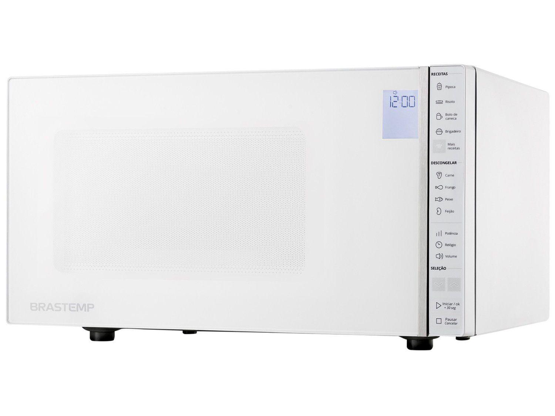 Micro-ondas Brastemp 32L Painel Integrado - BMS45 CBANA Branco
