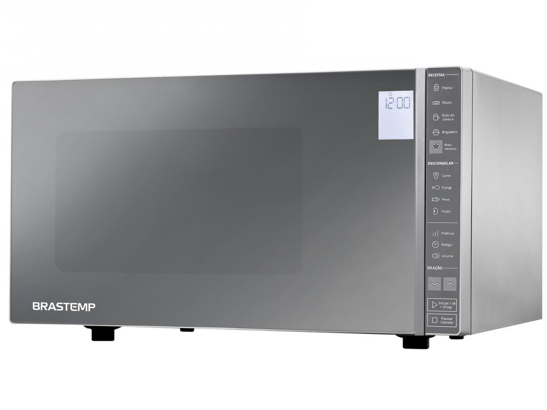 Micro-ondas Brastemp 32L Painel Integrado BMS45 - CRANA