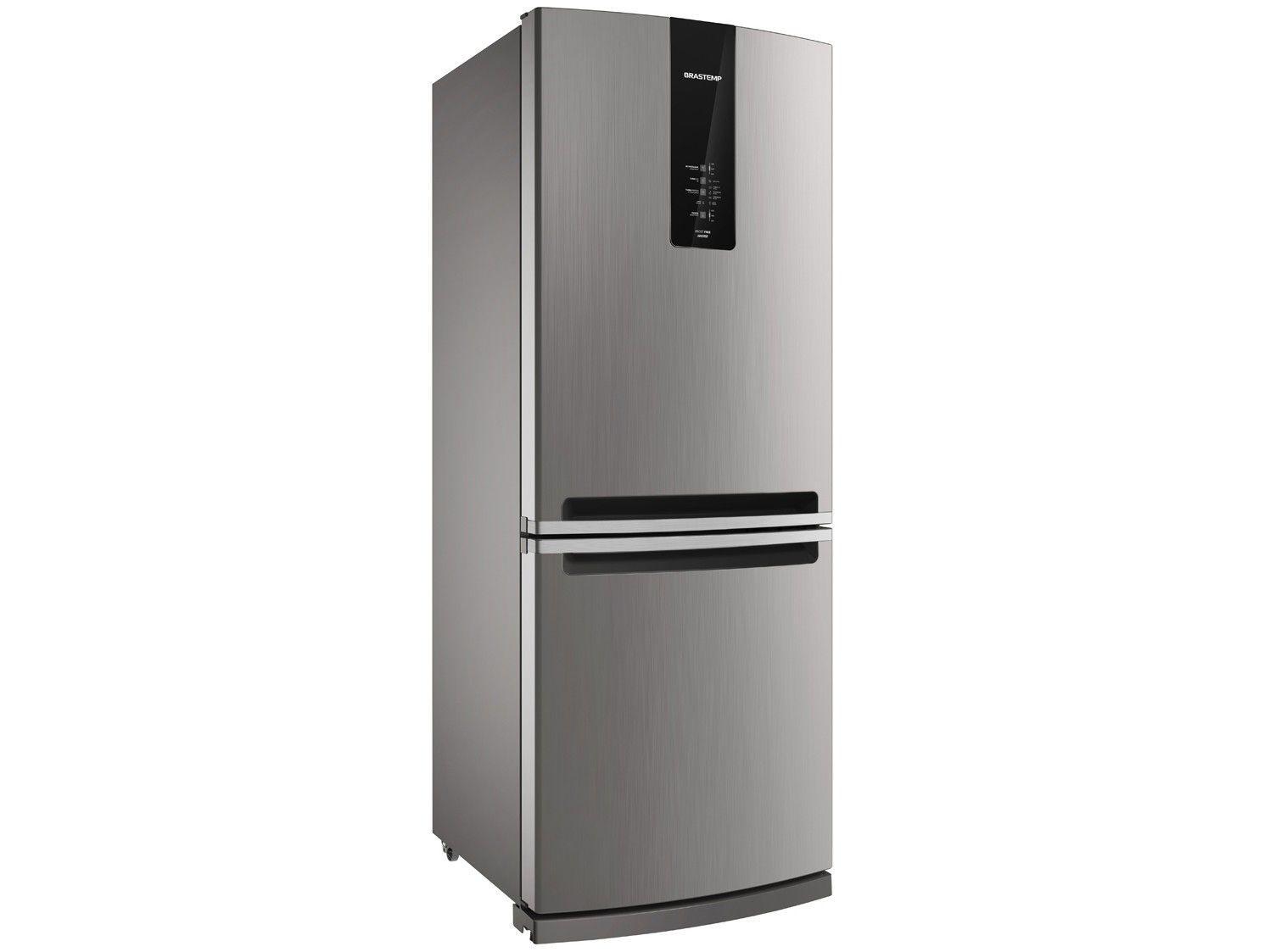 Geladeira/Refrigerador Brastemp Frost Free Inverse - 443L com Turbo Ice BRE57 AKANA