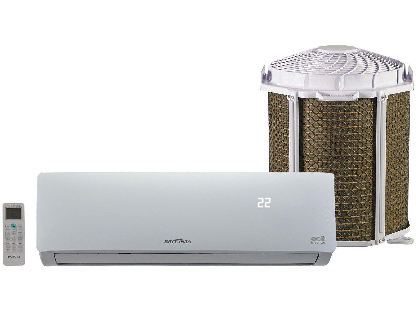 Ar-condicionado Split Britânia Inverter 9.000 BTUs - Frio Eco BAC9000ITFM9W