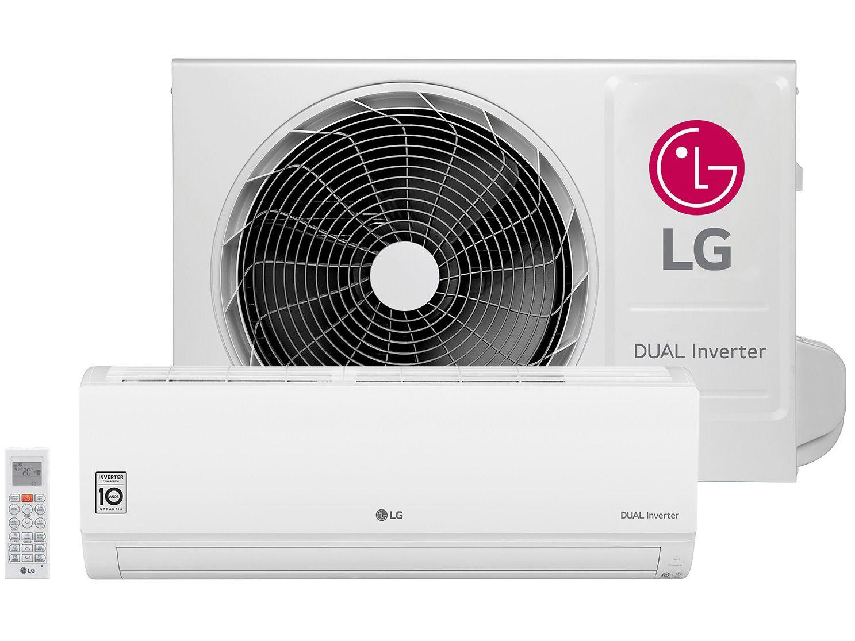 Ar-condicionado Split LG 9.000 BTUs Quente/Frio - Dual Inverter Voice S4-W09WA51A