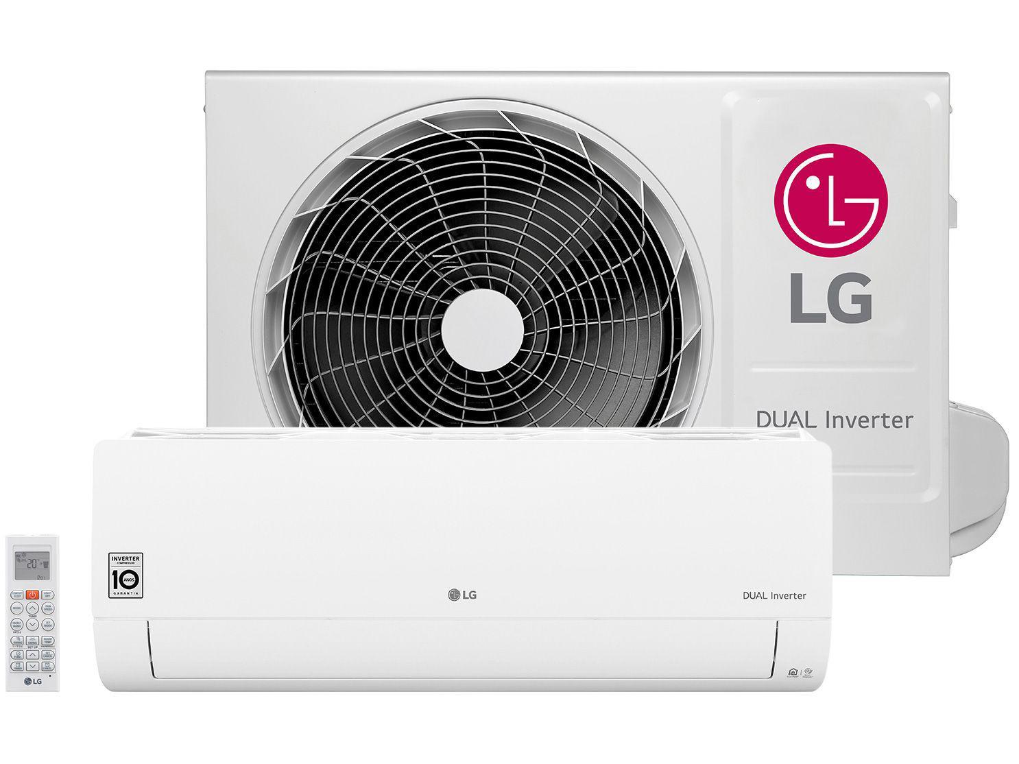 Ar-condicionado Split LG 22.000 BTUs Quente/Frio - Dual Inverter Voice S4-W24KE311