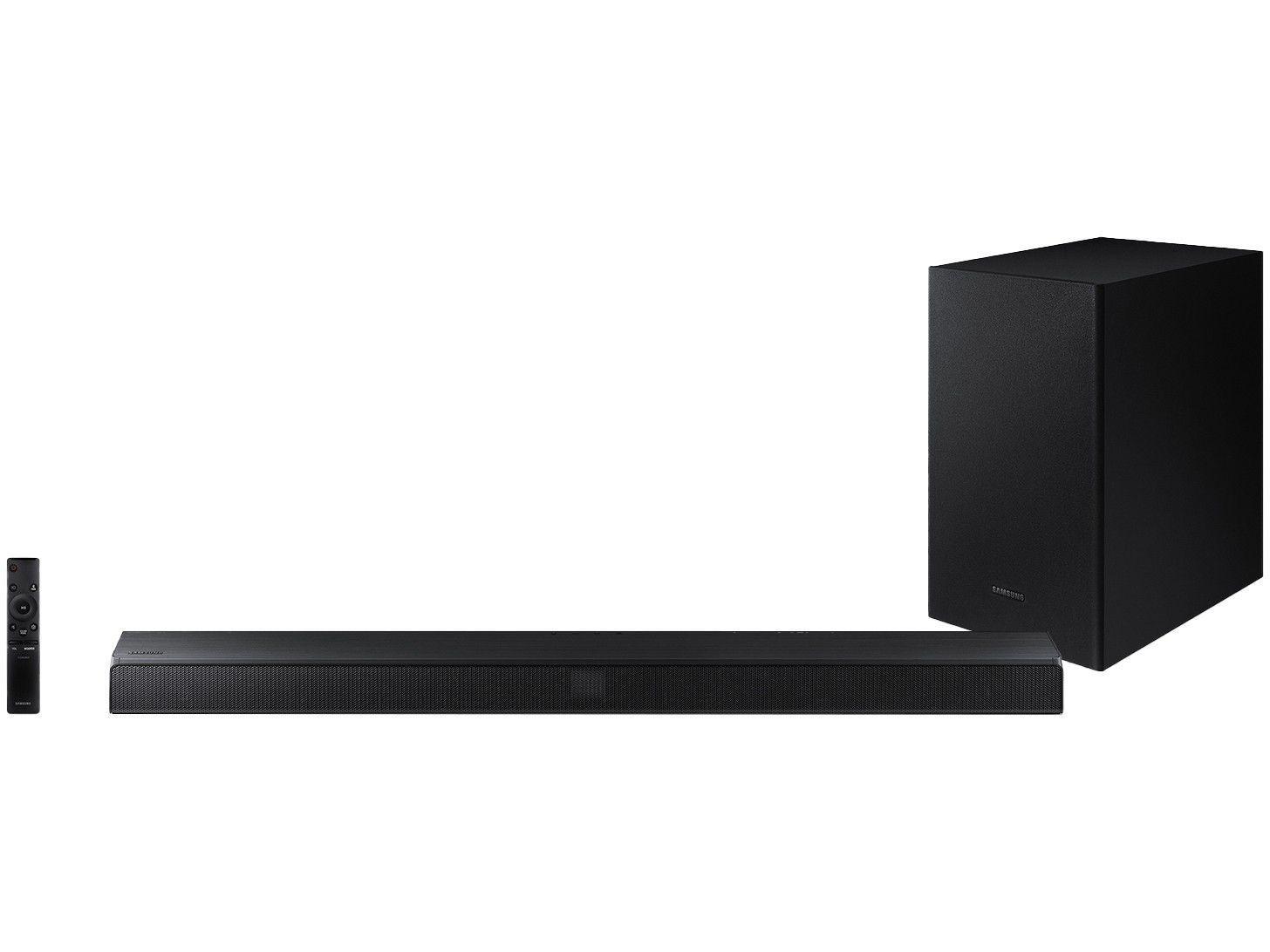 Soundbar Samsung com Subwoofer Wireless - Bluetooth 320W 2.1 Canais