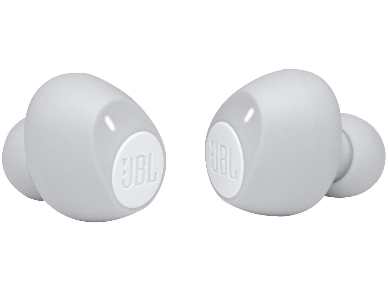 Fone de Ouvido Bluetooth JBL Tune 115 - True Wireless com Microfone Branco