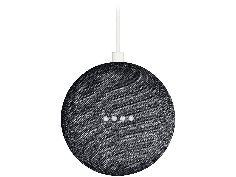 Nest Mini 2ª geração Smart Speaker - com Google Assistente Cor Carvão