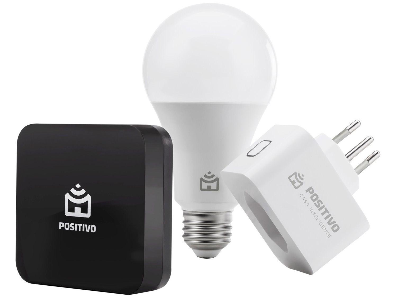 Kit Casa Inteligente Positivo Smarthome 11152227 - Controle por Smartphone