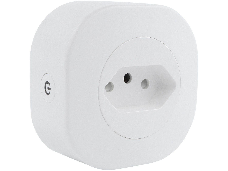 Adaptador de Tomada Inteligente 1 Saída 10A - Wi-Fi Geonav HISP10ABV